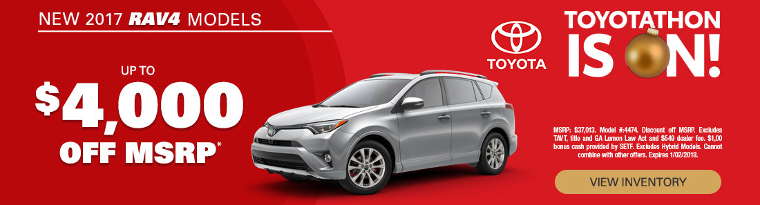2017 Toyota RAV4 Sale in Savannah GA