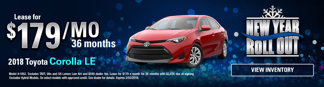 2018 Toyota Corolla LE Sale in Savannah GA