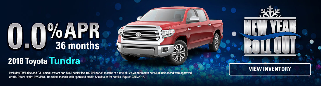 2018 Toyota Tundra Sale in Savannah GA
