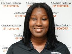 Tiesha Holmes - Service Consultant