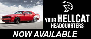 Hell Cat Chargers at North Star Dodge. Limited Supplies, See Dealer for Details.