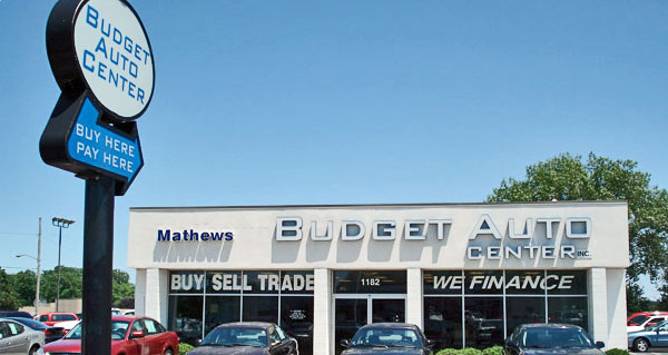Mathews Budget Auto Center location in Marion, Ohio