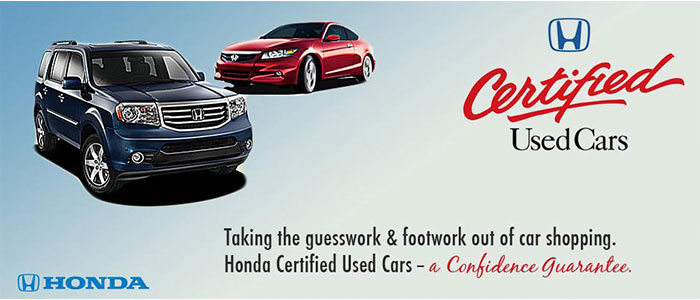 View Honda Certified Inventory