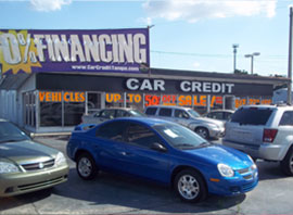 Car Credit at 3923 E. Hillsborough Avenue