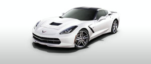 Arctic White 2014 Corvette