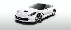 Arctic White 2014 Corvette