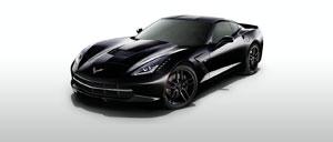 Black 2014 Corvette
