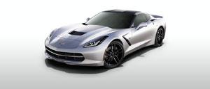 Blade Silver 2014 Corvette