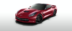 Crystal Red 2014 Corvette