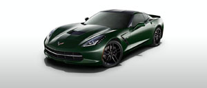 Lime Rock Green 2014 Corvette