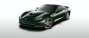 Lime Rock Green 2014 Corvette