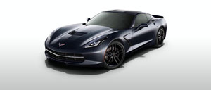 Night Race Blue 2014 Corvette