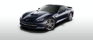 Night Race Blue 2014 Corvette