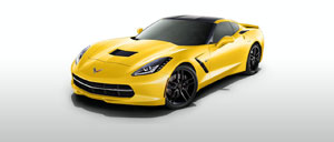 Velocity Yellow 2014 Corvette