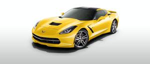 Velocity Yellow 2014 Corvette