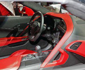 2014 Corvette Interior