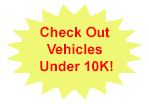 Vehicles Under $10k