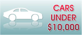 View Cars Under $10,000