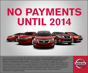 No Payments Until 2014