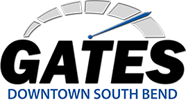 Gates Downtown South Bend Logo