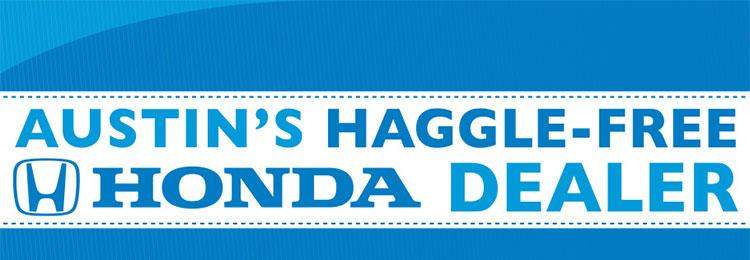 Austin's Haggle-Free Honda Dealer