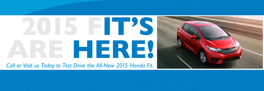 Honda Fit is Here