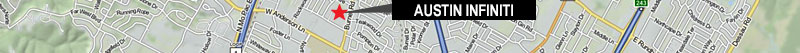 Austin Infiniti Map