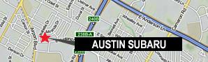 Austin Subaru Map