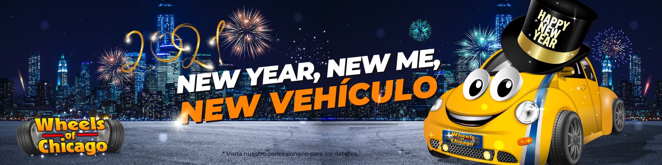 """""""new year, new me, new vehículo"""""""