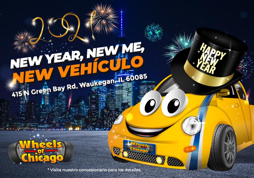 "Waukegan   ""new year, new me, new vehículo"""