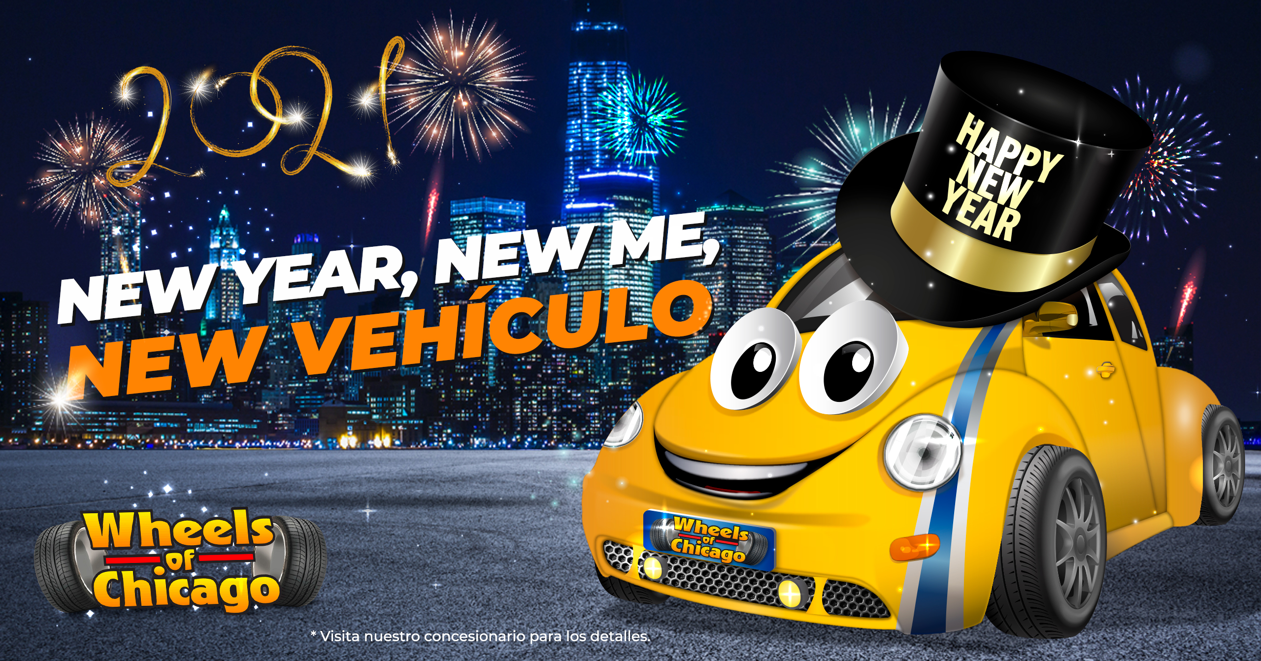 """new year, new me, new vehículo"""