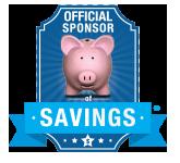 Official Sponsor of Savings