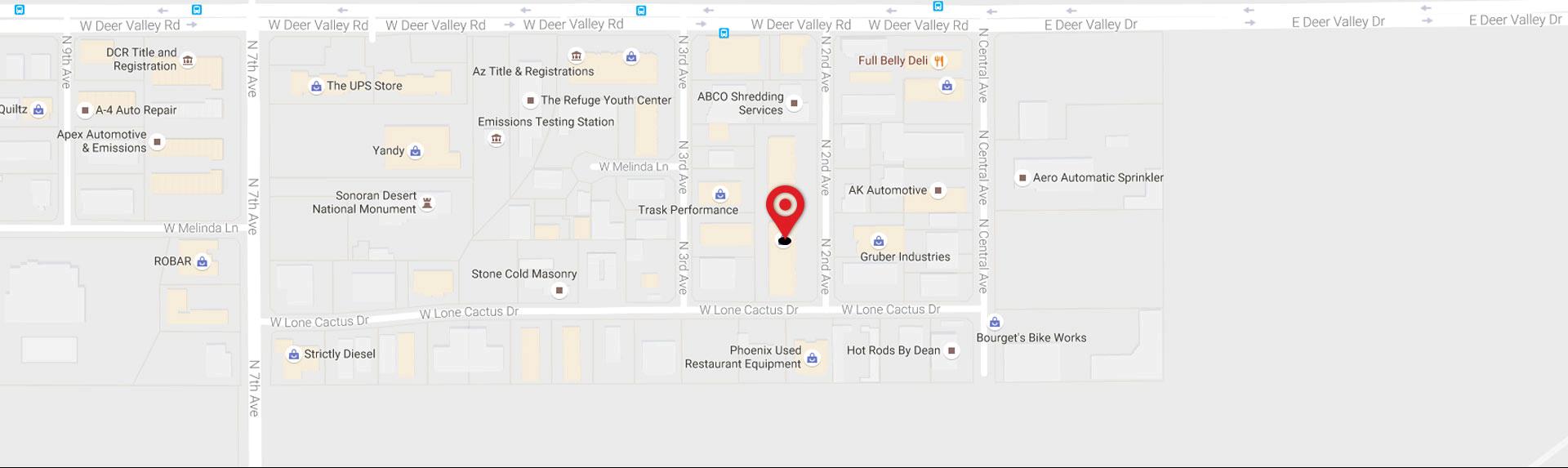dealer area map