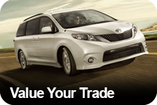 Value your trade at Lawley Toyota
