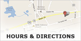 Hours and Directions to NeSmith Chevrolet Buick GMC of Claxton
