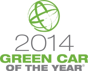 2014 Honda Accord - Green Car of the Year