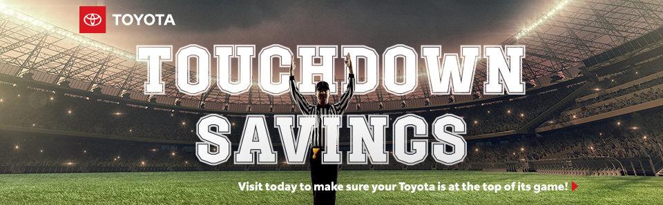 Touchdown Savings
