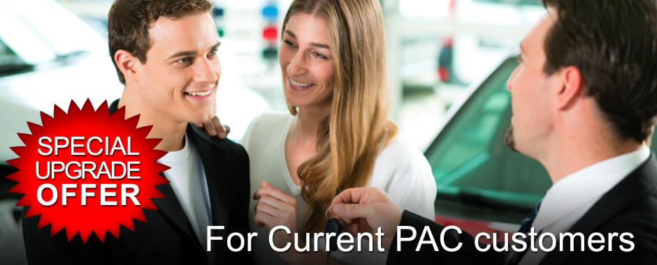 Special upgrade offer for current PAC customers