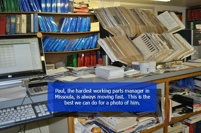 Paul Marmorato - Parts Manager
