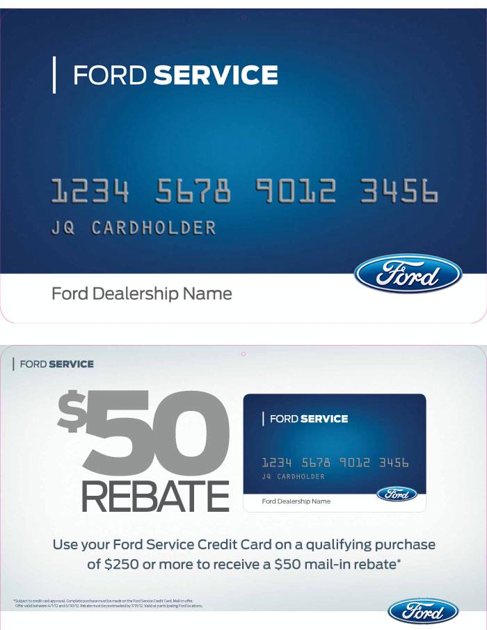 ford visa cash card