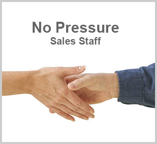 No Pressure Sales Staff