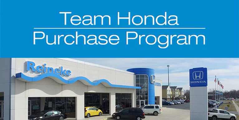 Team Honda Purchase Program
