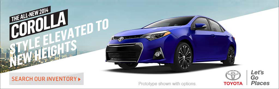 All-new 2014 Corolla!