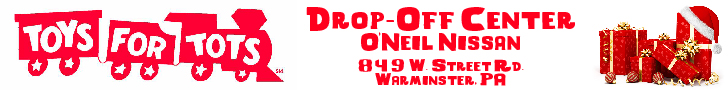 Toys for Tots Drop-Off Location at O'Neil Nissan