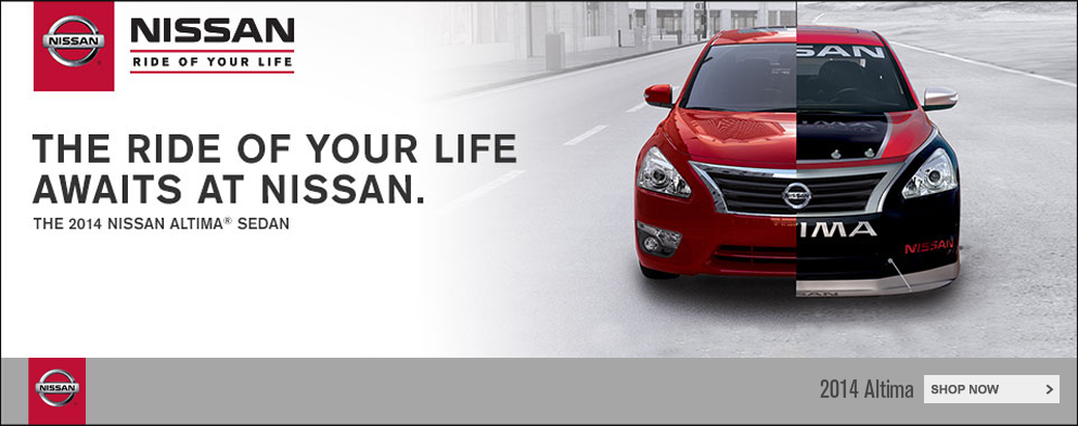 Altima Ride of Your Life Sales Event Happening Now!