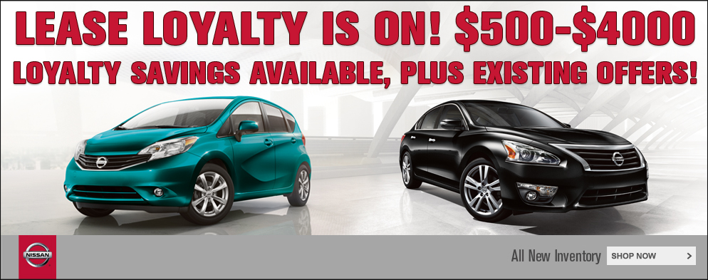 October Lease Loyalty at O'Neil Nissan