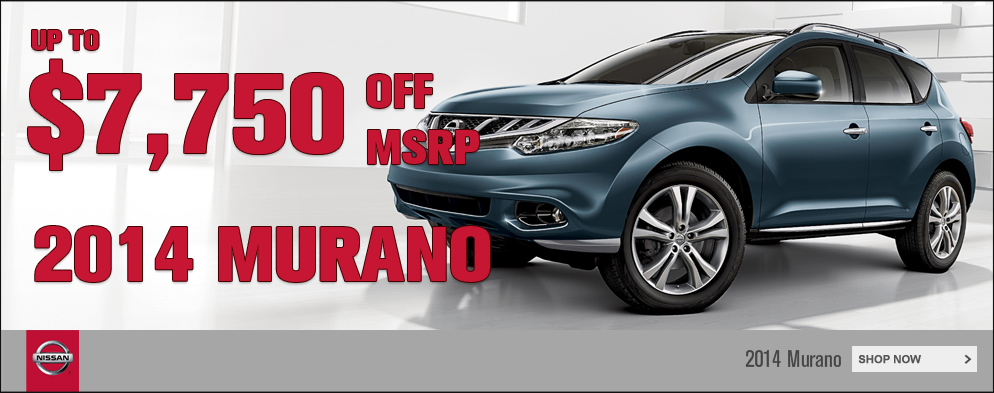 Murano Bonus Cash at O'Neil Nissan