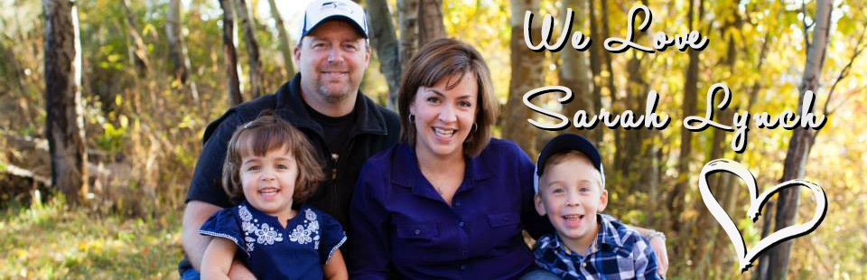 Sarah and family header