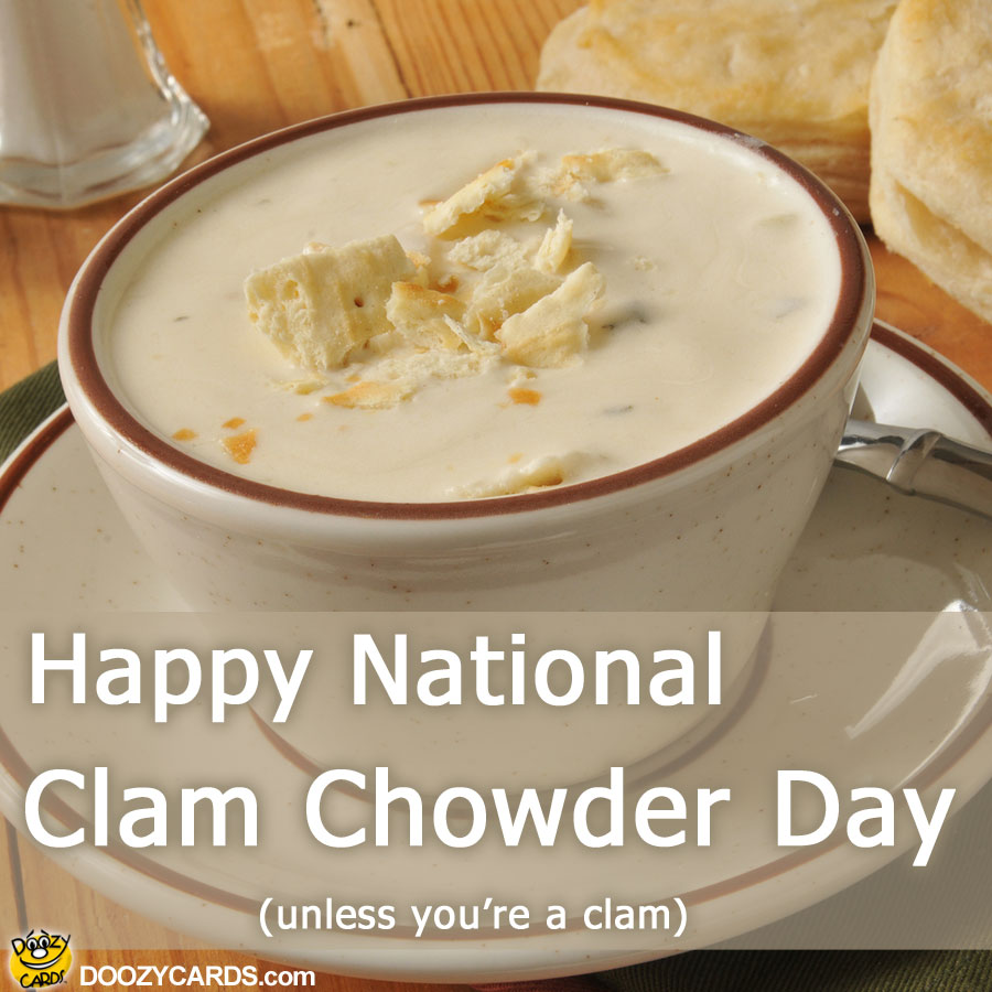 Clam Chowder Day