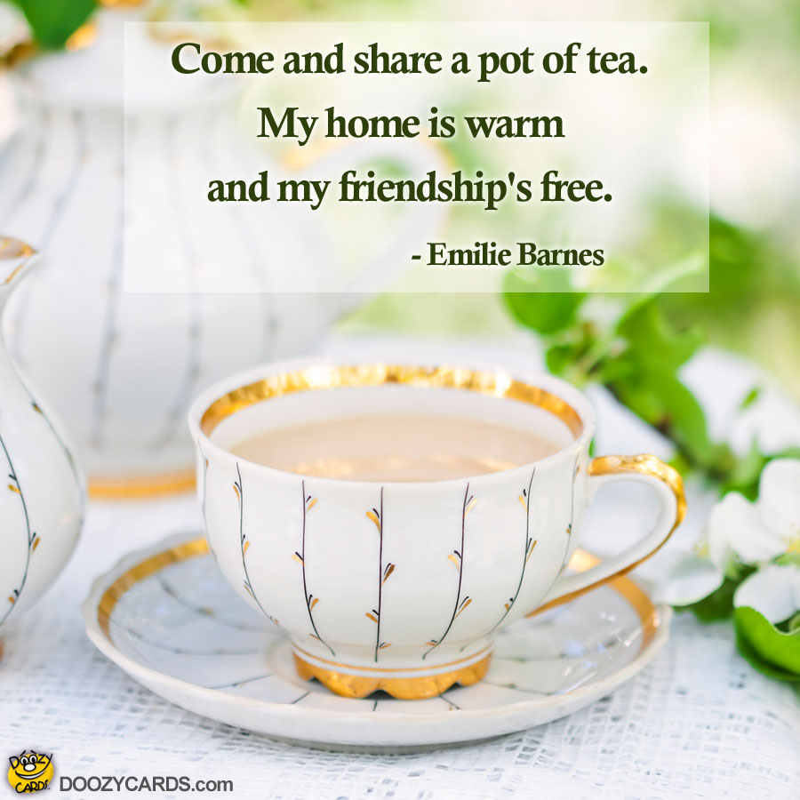Tea and Friendship